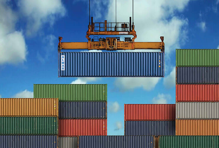 trading and leasing of shipping containers