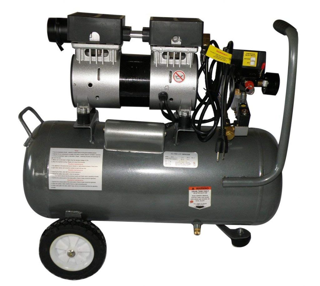 RENTED AIR COMPRESSOR